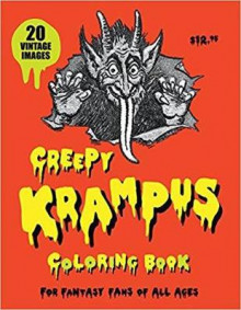 Creepy Krampus Coloring Book av Monte Beauchamp (Heftet)