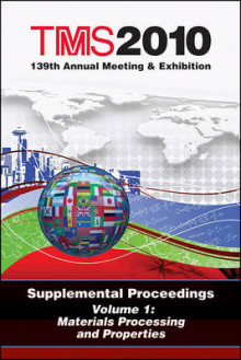 TMS 2010 139th Annual Meeting and Exhibition: Volume 1 av Metals & Materials Society (TMS) The Minerals (Heftet)