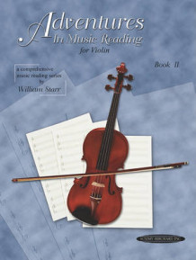 Adventures in Music Reading for Violin av William Starr (Heftet)