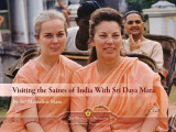 Omslag - Visiting the Saints of India with Sri Daya Mata