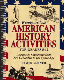 Ready-To-Use American History Activities for Grades 5-12 av James F. Silver (Heftet)