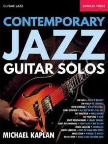 Contemporary Jazz Guitar Solos av Michael Kaplan (Heftet)