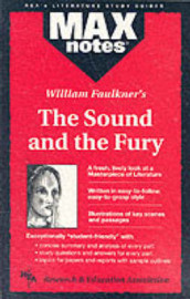 MAXnotes Literature Guides: Sound and the Fury av Boria Sax (Heftet)