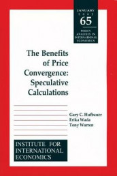 Benefits of Price Convergence - Speculative Calculations av Gary Clyde Hufbauer, Erika Wada og Tony Warren (Heftet)