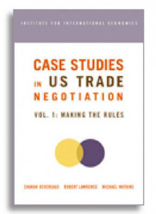 Case Studies in US Trade Negotiation: Making the Rules v. 1 av Charan Devereaux, Robert Z. Lawrence og Michael D. Watkins (Heftet)