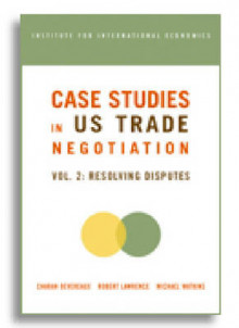 Case Studies in US Trade Negotiation: Resolving Disputes v. 2 av Charan Devereaux, Robert Z. Lawrence og Michael D. Watkins (Heftet)