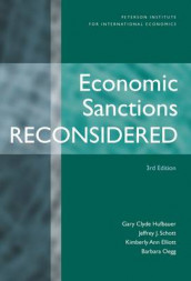 Economic Sanctions Reconsidered av Kimberly Ann Elliott, Gary Clyde Hufbauer og Jeffrey J. Schott (Innbundet)