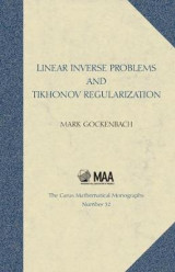 Omslag - Linear Inverse Problems and Tikhonov Regularization