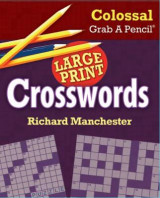 Omslag - Colossal Grab a Pencil Large Print Crosswords