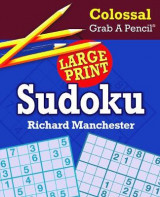Omslag - Colossal Grab a Pencil Large Print Sudoku