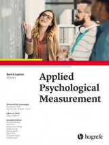 Omslag - Applied Psychological Measurement 2017