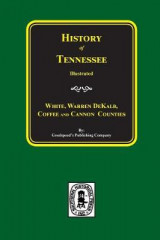 Omslag - History of White, Warren, Dekalb, Coffee, and Cannon Counties.