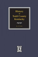 Omslag - Todd County, Kentucky, History Of.
