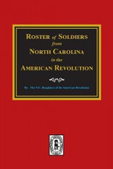 Omslag - Roster of Soldiers from North Carolina in the American Revolution.
