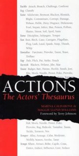 Omslag - Actions: The Actors' Thesaurus