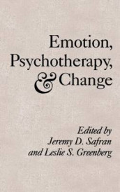 Emotion, Psychotherapy And Change av Leslie S. Greenberg og Jeremy D. Safran (Innbundet)