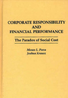 Corporate Responsibility and Financial Performance av Moses L. Pava og Joshua Krausz (Innbundet)