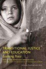 Omslag - Transitional Justice and Education
