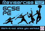 Omslag - PE Revision (All GCSE UK Exam Boards) : Revisercise: Work-it-Out While You Work Out 2015