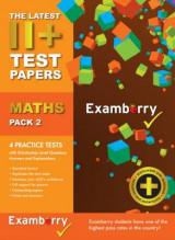 Omslag - 11+ Test Papers Maths Pack 2