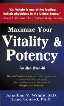 Maximise Males Vitality and Potency av Wright (Heftet)