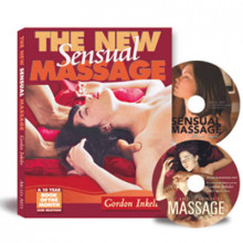 The New Sensual Massage: Book and Double DVD Package av Gordon Inkeles (Heftet)