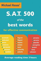 S.A.T. 500 of the best words av Michael Lowry og Michael Roses (Heftet)