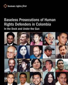 Baseless Prosecutions of Human Rights Defenders in Colombia av Andrew Hudson (Heftet)