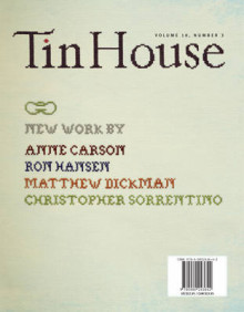 Tin House, Volume 10; Number 3 av Kate Christensen, Christopher Sorrentino og Shawn Vestal (Heftet)