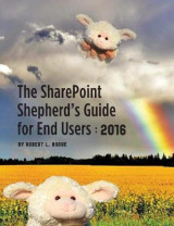 Omslag - The Sharepoint Shepherd's Guide for End Users