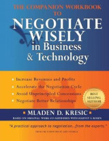 Omslag - The Companion Workbook to Negotiate Wisely in Business and Technology