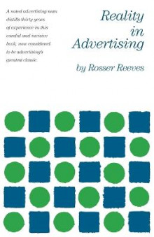 Reality in Advertising av Rosser Reeves (Heftet)