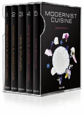 Modernist Cuisine 1-5 and Kitchen Manual av Maxime Bilet, Nathan Myhrvold og Chris Young (Innbundet)