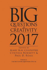 Omslag - Big Questions in Creativity 2017