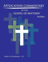 Omslag - Application Commentary of the Gospel of Matthew - 2017 Revised Edition