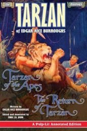 The Tarzan Duology of Edgar Rice Burroughs av Edgar Rice Burroughs og Finn J D John (Heftet)