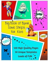 Omslag - Big Book of Blank Comic Strips for Kids