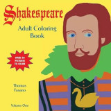 Omslag - Shakespeare Adult Coloring Book Volume One