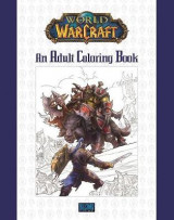 Omslag - World of Warcraft: An Adult Coloring Book