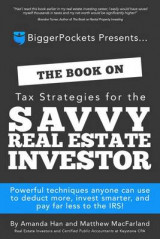 Omslag - The Book on Tax Strategies for the Savvy Real Estate Investor