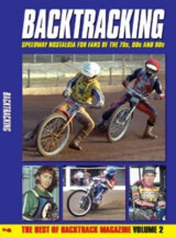 Omslag - Bactracking: for Speedway Fans of the 70s, 80s and 90s: Volume 2