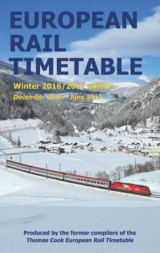 Omslag - European Rail Timetable Winter: December 2016 - June 2017