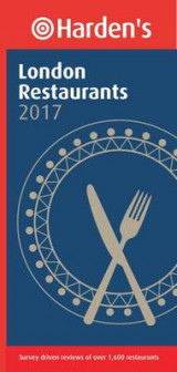 Omslag - Harden's London Restaurants 2017