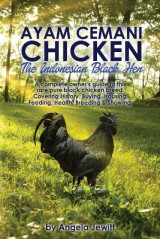 Omslag - AyaAyam Cemani Chicken - the Indonesian Black Hen. A Complete Owner's Guide to This Rare Pure Black Chicken Breed. Covering History, Buying, Housing, Feeding, Health, Breeding & Showing