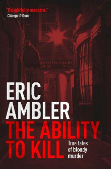 The Ability to Kill av Eric Ambler (Heftet)
