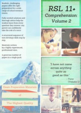 Omslag - RSL 11+ Comprehension: Practice Papers with Detailed Answers and Question-by-Question Feedback for 11+ / KS2 English Volume 2
