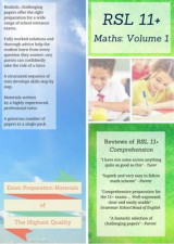 Omslag - 11+ Maths by RSL: Practice Papers with Detailed Answers & Explanations for 11 Plus / KS2 Maths Volume 1