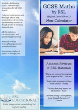 Omslag - GCSE Maths by RSL, Higher Level (9-1), Non-Calculator