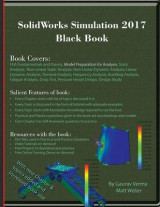 Omslag - Solidworks Simulation 2017 Black Book