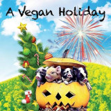 Omslag - A Vegan Holiday